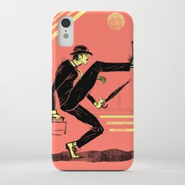Silly Walk iPhone Case
