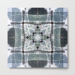 Breakwater: Riomaggiore Metal Print