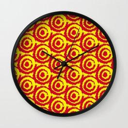 Seamless Patterns Wall Clock