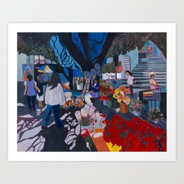 Mercado Art Print