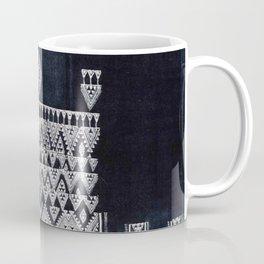 Arteresting V48 - Indigo Anthropologie Bohemien Traditional Moroccan Design Coffee Mug