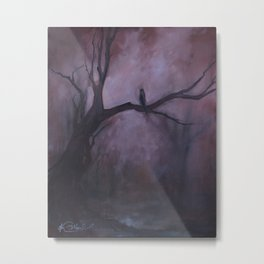 Free and Alone Metal Print