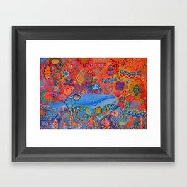 Free Floating Framed Art Print