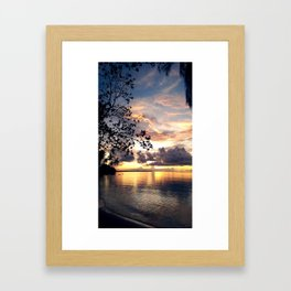 Bright Pain Framed Art Print