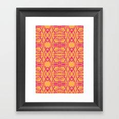 Shotgirl Tang Framed Art Print