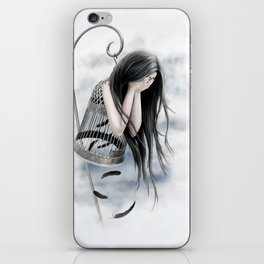 Raven Tears iPhone Skin
