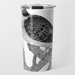 Turtle dove Travel Mug