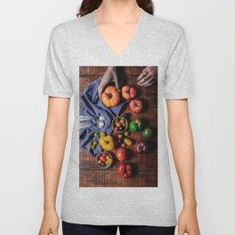 Farm Fresh (Color) Unisex V-Neck