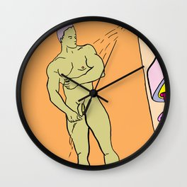 Soap Me Up Wall Clock