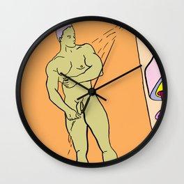 Soap Me Up Wall Clock