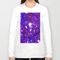 the lights Long Sleeve T-shirts featuring Lights by Alesya