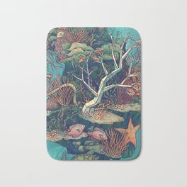 Coral Communities Bath Mat