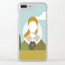 Moonrise Kingdom - Suzy Bishop (Kara Hayward) Clear iPhone Case