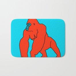 The Orange Gorilla Bath Mat
