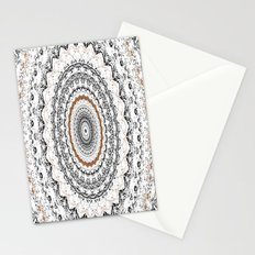 Black, Gold, and White Stationery Cards