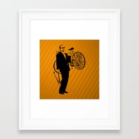 bill murray Framed Art Prints featuring Bill Murray by Spyck