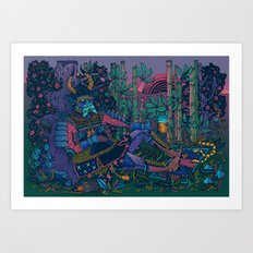 Power Pint Art Print