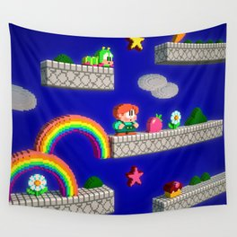 Inside Rainbow Islands Wall Tapestry