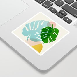 Abstraction_PLANTS_01 Sticker