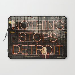 Nothing Stops Detroit Laptop Sleeve