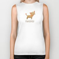 chihuahua Biker Tanks featuring Chihuahua by 52 Dogs