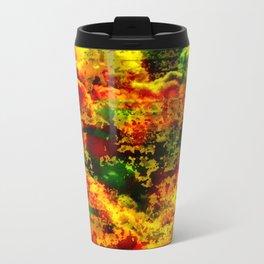 C13D Distressed Metal Travel Mug