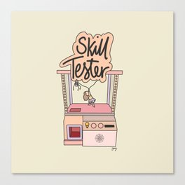 Skill Tester Canvas Print