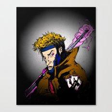 [Rémy LeBeau] ~ 'THE CAJUN MASTER' Canvas Print