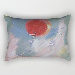 Goodbye Red Balloon Rectangular Pillow