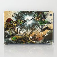battlefield iPad Cases featuring The Battlefield by Fresh Doodle - JP Valderrama