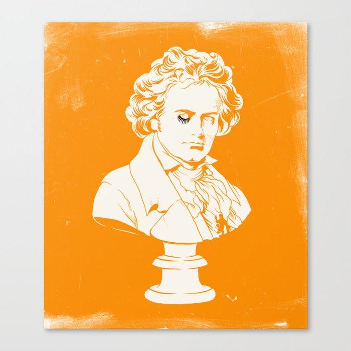 A Clockwork Orange Movie Poster Canvas Print By Joelamatguell