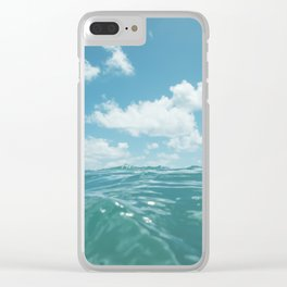 Hawaii Water IV Clear iPhone Case