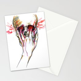Fire Meet Gasoline Stationery Cards