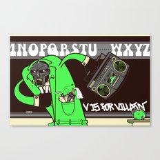 V. Vaughn Canvas Print