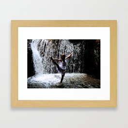 Dancer In The Dark Framed Art Print
