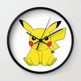 pikacu Wall Clock