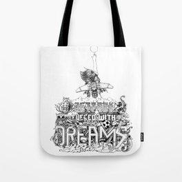jetpack fueled with dreams Tote Bag