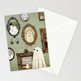 There's A Ghost in the Portrait Gallery Stationery Cards