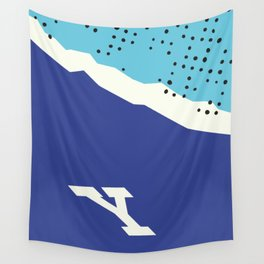Y Mountain Wall Tapestry