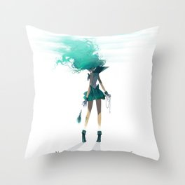 Michiru Throw Pillow