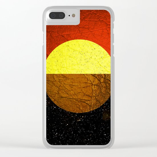 Abstract #227 Clear iPhone Case
