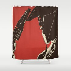 D. U. Shower Curtain