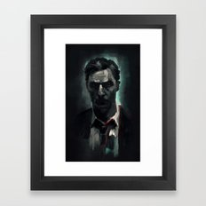 Rust Cohle Framed Art Print
