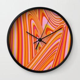 Wave Series p5 Wall Clock