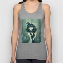 Oracle of the sodden raven Unisex Tank Top