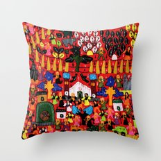 From Pipli Throw Pillow