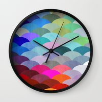 rug Wall Clocks featuring Scales by Steven Womack