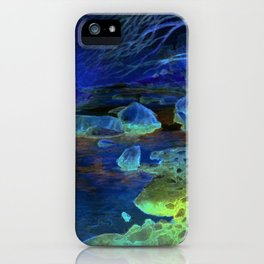 Golden Reflections iPhone Case