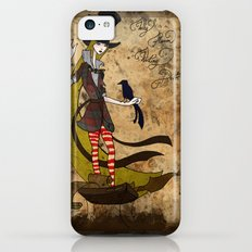 Mad Alice: Why is a Raven like a Writing Desk? Slim Case iPhone 5c