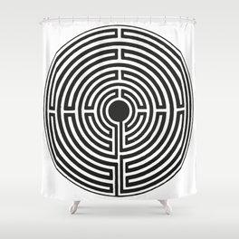 Maze 2 Shower Curtain